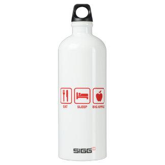 Eat Sleep Big Apple Water Bottle