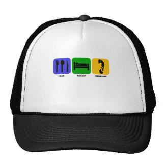 Eat Sleep Bigfoot Trucker Hat