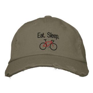 Eat, Sleep, Bike Cap