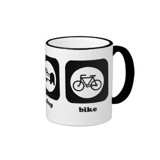 Eat. Sleep. Bike. Mug