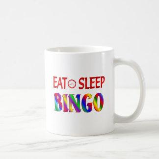 Eat Sleep Bingo Coffee Mugs