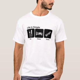 Eat sleep Bingo T-Shirt