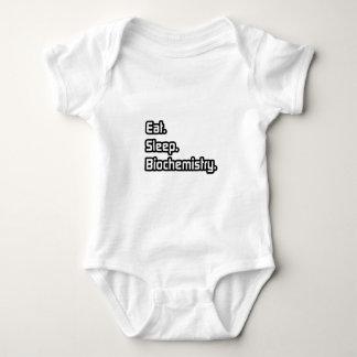 Eat. Sleep. Biochemistry. Baby Bodysuit