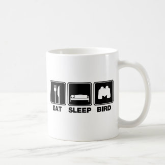 Eat Sleep Bird (bins) Coffee Mugs