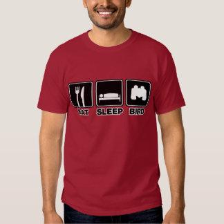 Eat Sleep Bird (bins) T Shirt