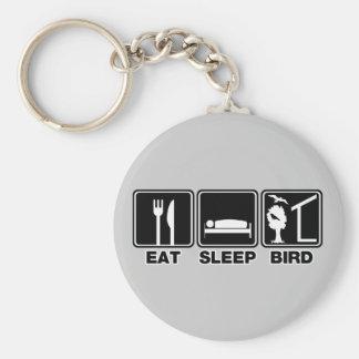 Eat Sleep Bird (blind) Keychain