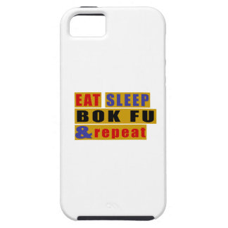 EAT SLEEP BOK FU AND REPEAT iPhone SE/5/5s CASE