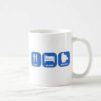 Eat Sleep Bolivia Classic White Coffee Mug