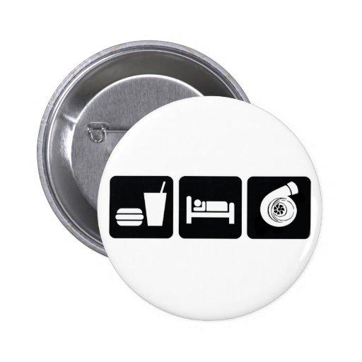 Eat Sleep Boost 2 Inch Round Button
