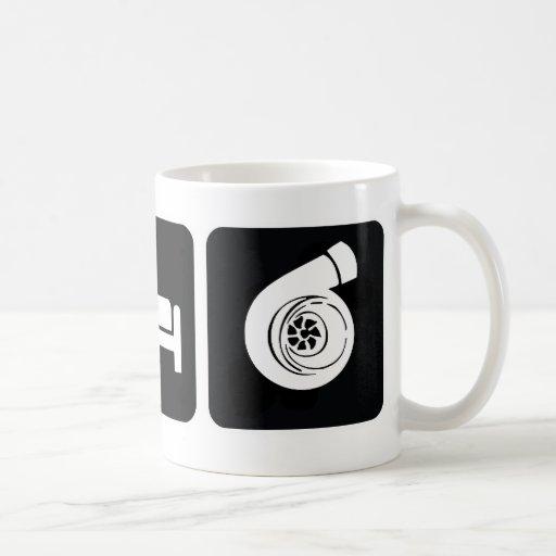 Eat Sleep Boost Classic White Coffee Mug
