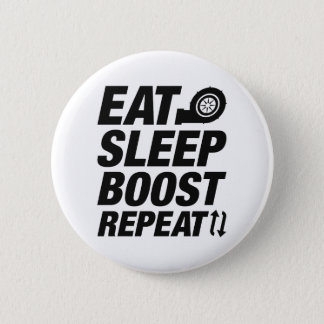Eat Sleep Boost Repeat Pinback Button