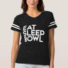 Eat sleep BOWL bowling T-shirt