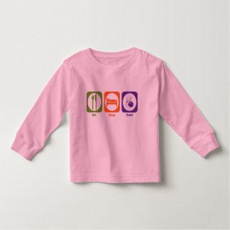 Eat Sleep Bowl Toddler T-shirt