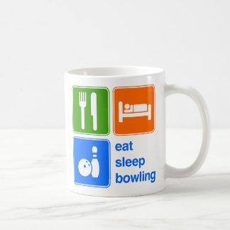 Eat Sleep Bowling Coffee Mug