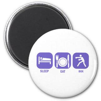 Eat Sleep Box 2 Inch Round Magnet