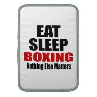 EAT SLEEP BOXING MacBook AIR SLEEVES