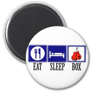 Eat, Sleep, Boxing Magnet