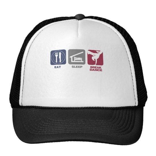 Eat Sleep Breakdance - Girl Trucker Hat
