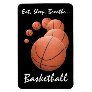 Eat, Sleep, Breathe...Basketball Rectangular Photo Magnet