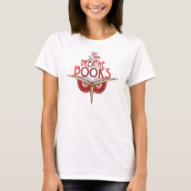 Eat Sleep Breathe Books 1 Side Shirt