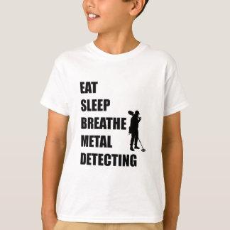Eat Sleep Breathe Metal Detecting T-Shirt