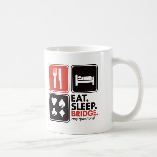 Eat Sleep Bridge Coffee Mug