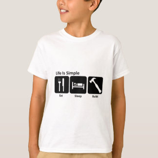 Eat Sleep Build T-Shirt
