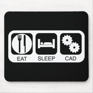 Eat Sleep CAD Mouse Pad