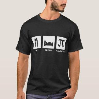Eat Sleep Calculate T-Shirt