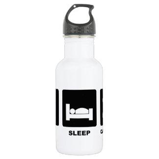 Eat Sleep Calculate Water Bottle