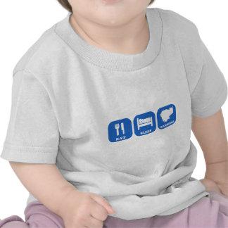 Eat Sleep Cambodia T-shirt