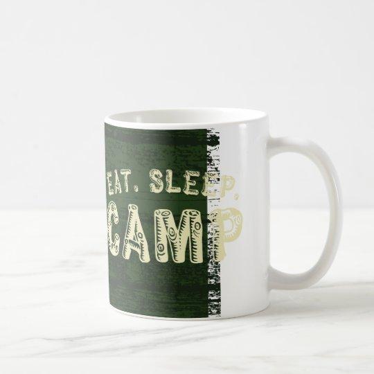 Eat. Sleep. Camp Coffee Mug