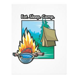 Eat, Sleep, Camp Flyer