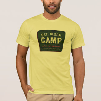 Eat. Sleep. CAMP Funny Camping Shirt