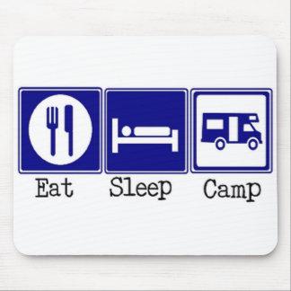 Eat. Sleep, Camp Mouse Pad