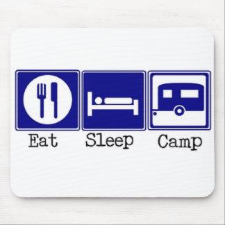 Eat, Sleep, Camp Mouse Pad