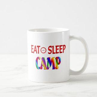 Eat Sleep Camp Mugs