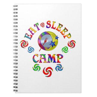Eat Sleep Camp Notebook