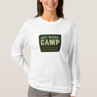 Eat. Sleep. Camp T-Shirt