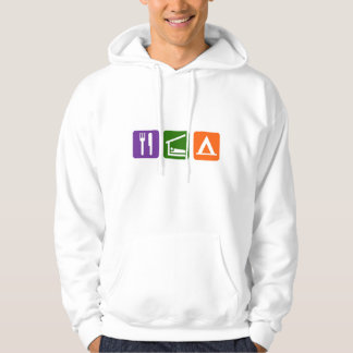 Eat Sleep Camping Pullover