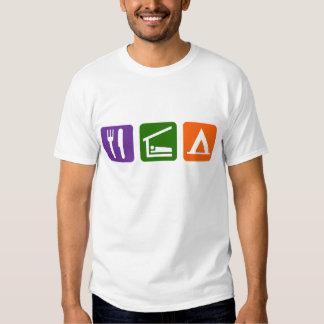 Eat Sleep Camping Shirt