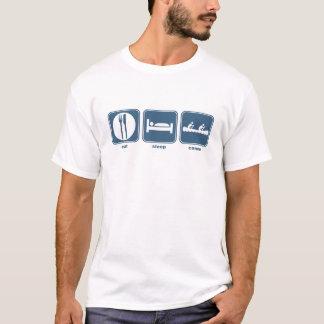 eat sleep canoe T-Shirt