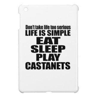 EAT SLEEP CASTANETS iPad MINI COVER