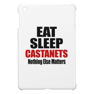 EAT SLEEP CASTANETS iPad MINI COVERS