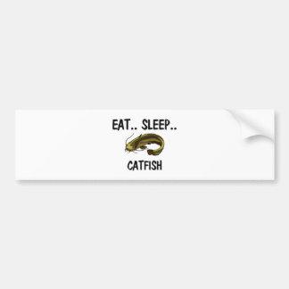 Eat Sleep CATFISH Car Bumper Sticker