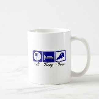 Eat, Sleep, Cheer Coffee Mug