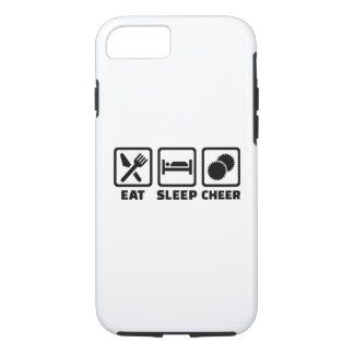 Eat sleep cheer iPhone 8/7 case