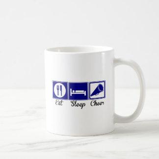 Eat Sleep Cheer Coffee Mugs