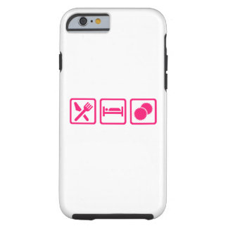Eat sleep Cheerleading Tough iPhone 6 Case