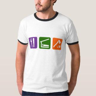Eat Sleep Chopping Wood T-Shirt